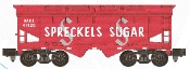 Sold Out! American Flyer S Gauge Red Spreckels Hopper Car #3
