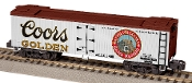 Coors Billboard Refrigerator Car - S Gauge